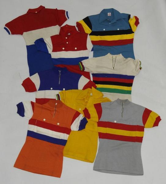 Tour de France/Maillots des équipes nationales/1958-60  - Exceptionnelle collection [...]