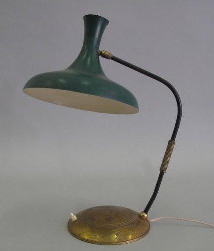 Travail des ann es 50 lampe de bureau mis en vente lors for Lampe de bureau annee 50