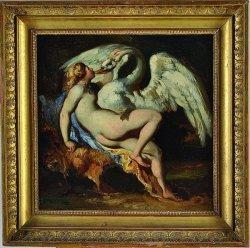 GÉRICAULT Théodore (1791-1824) - «Léda et le cygne»