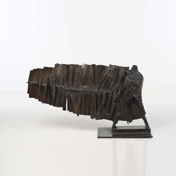 César (1921-1998)  - Grand Valentin, 1956, Bronze à patine brune, Signé César,[...]
