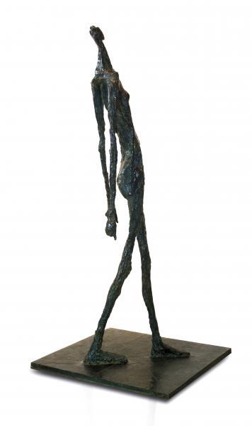 Germaine RICHIER (1904-1959).  - La ville - 1951. Sculpture en bronze à patine vert[...]