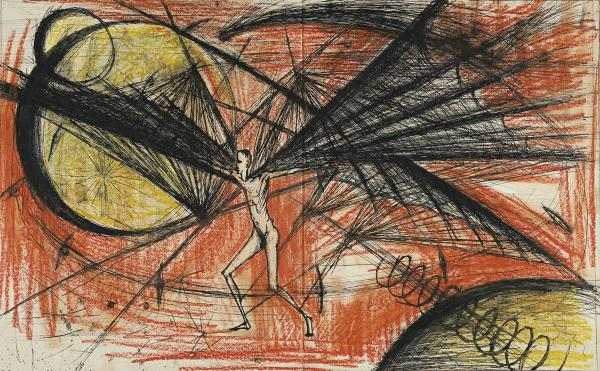 Bernard Buffet (1928-1999)  - Exceptionnel volume enrichi de dessins par l'artiste  [...]