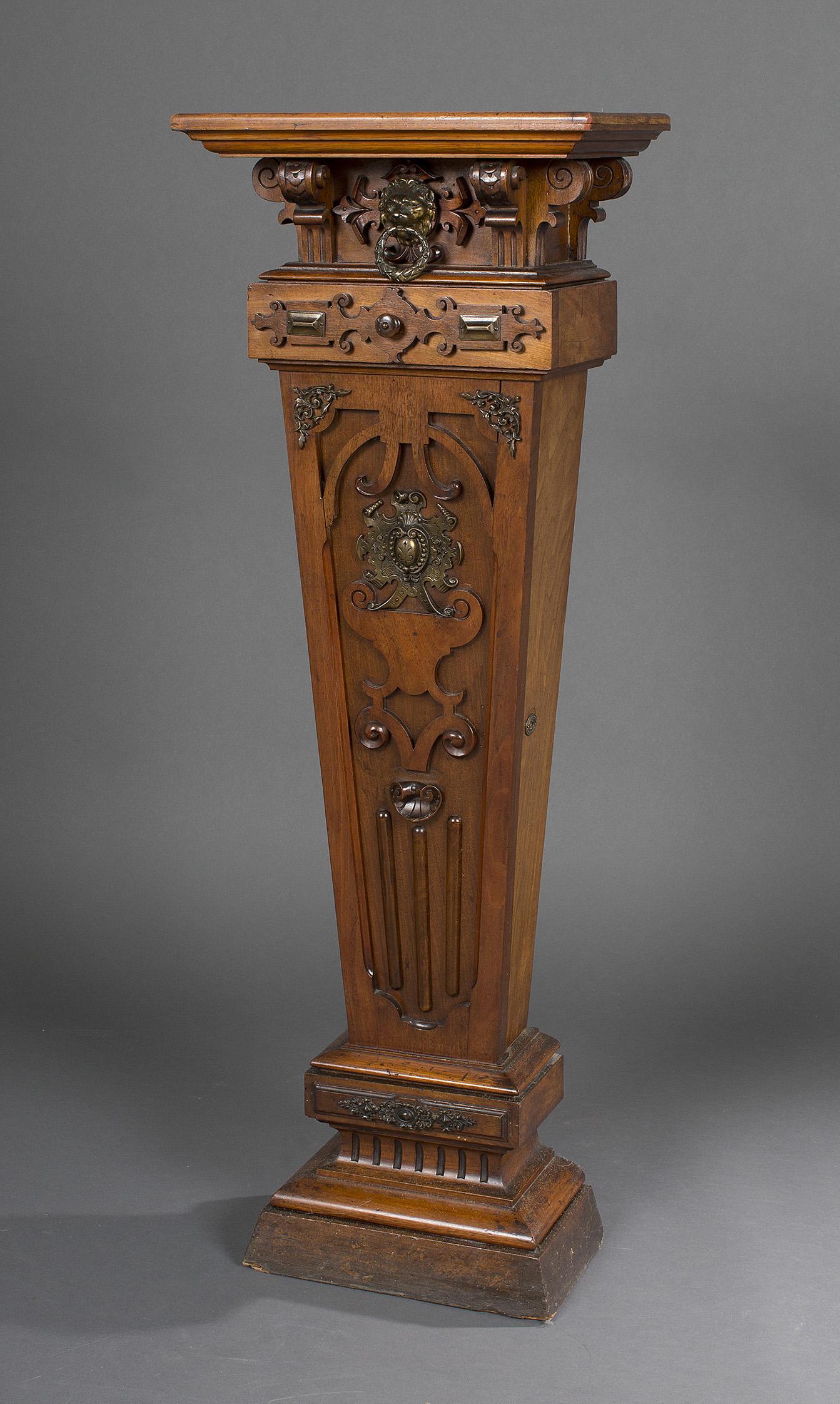 Catalogue de la vente tableaux anciens et modernes for Lions meuble circulaire