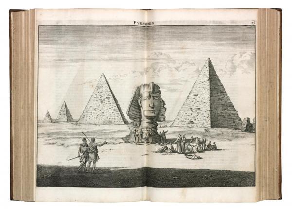 BRUYN Cornelis de. Voyage au Levant, c'est-à-dire dans les principaux endroits de [...]