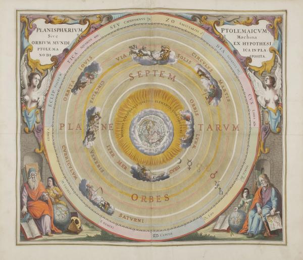 CELLARIUS (Andreas).  - Harmonia macrocosmica seu atlas universalis et novus, totius [...]