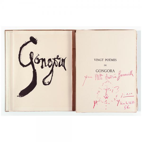 Pablo Picasso et Luis de Góngora y Argote, Vingt poèmes, Les Grands Peintres [...]