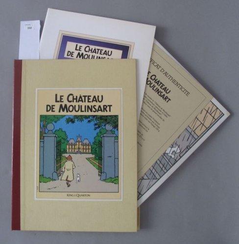 Le ch teau de moulinsart maquette du ch teau mis en vente lors de la vente - Le chateau de moulinsart ...