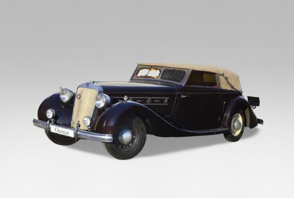 1936 DELAGE D8  - Châssis n° 51 597  - Carte grise de collection La Delage D8 est[...]