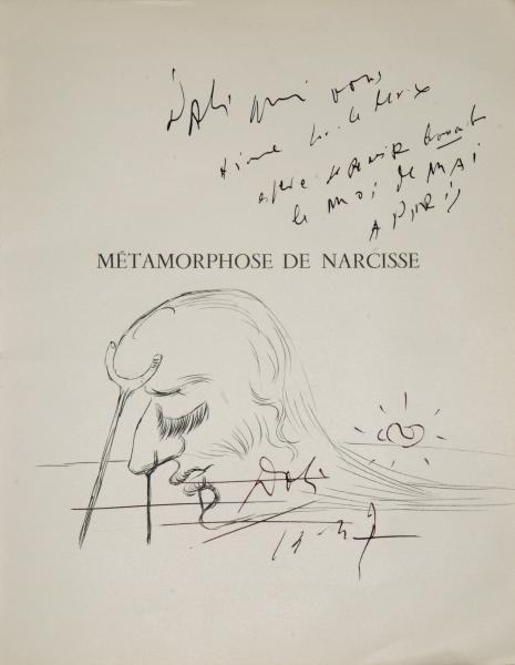 DALI (Salvador).  - Métamorphose de Narcisse. Paris, Éditions surréalistes, 1937.[...]