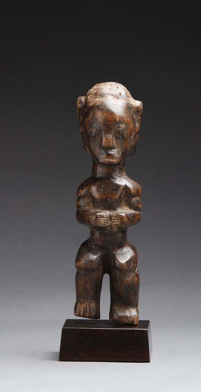statue byeri fang guin 233 e equatoriale africain oc 233 anien 224 salle des ventes de chinon