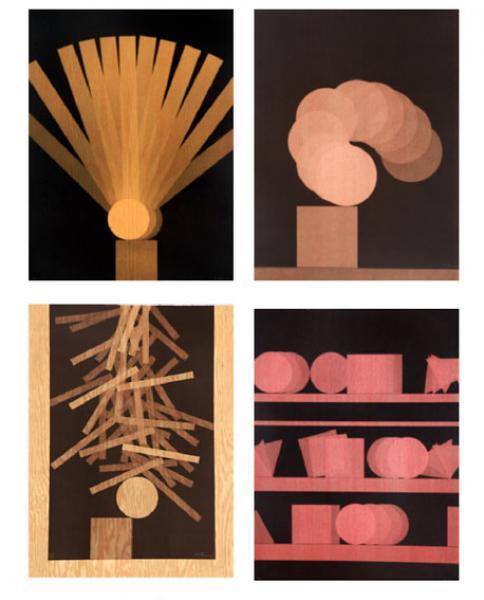 Pol Bury  - Ensemble de 5 lithographies, toutes signées et justifiées. -
