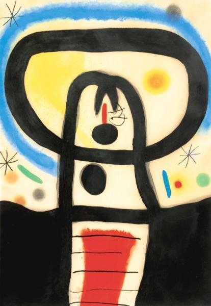 Joan MIRO (1893-1983) Equinoxe - 1967