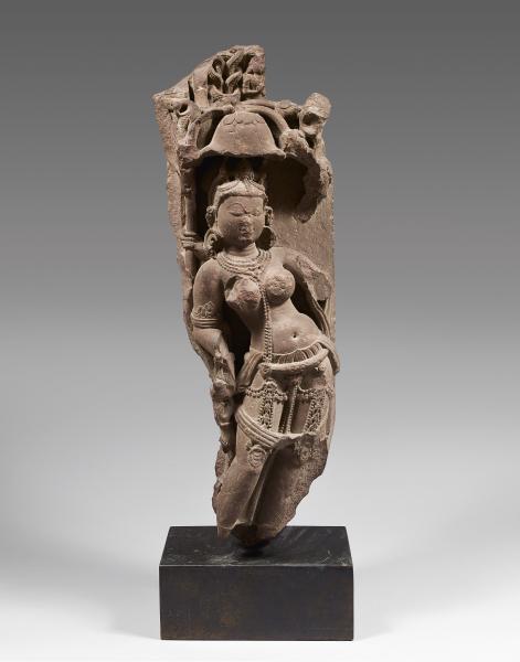 INDE, Madhya Pradesh - Période médiévale, Xème-XIème siècle.  - Stèle en grès [...]