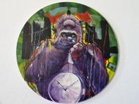 Boris DAVY - «le gorille par son imposante puissance représente...