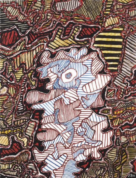 Jean DUBUFFET - « PERSONNAGE (EG 1.) »...