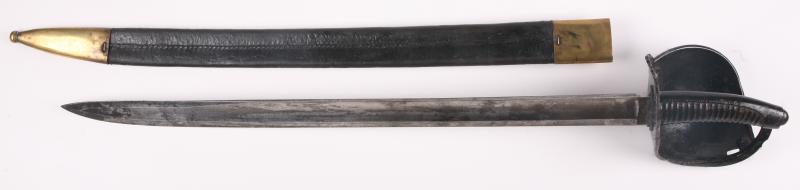 sabre d 39 abordage de marine dit cuiller pot par holler mis en vente lors de la vente. Black Bedroom Furniture Sets. Home Design Ideas