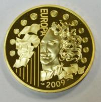 MONNAIES DE Paris EUROPA 2009 VALEUR FACIALE 200€ Type ...