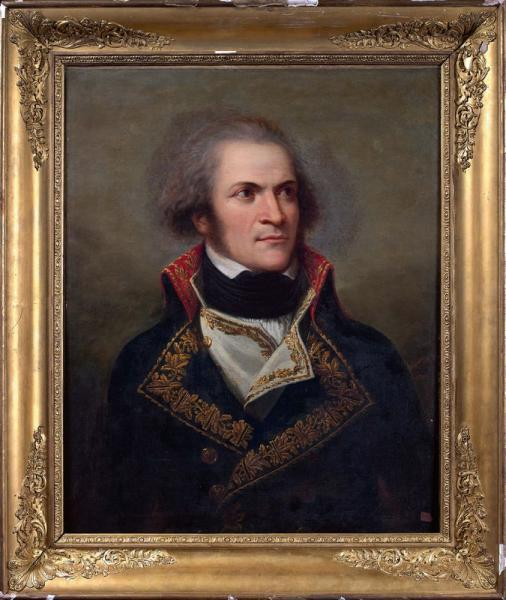 Andrea APPIANI (Milan 1754 - 1817) « Portrait de Guillaume Marie-Anne Brune en habit[...]