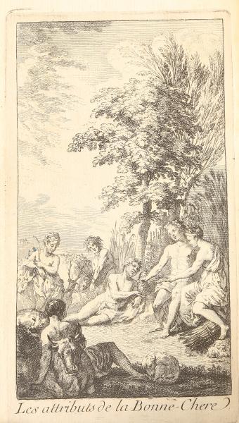 [MARIN( François)]. Les dons de Comus, ou les Délices de la Table […] Paris,[...]