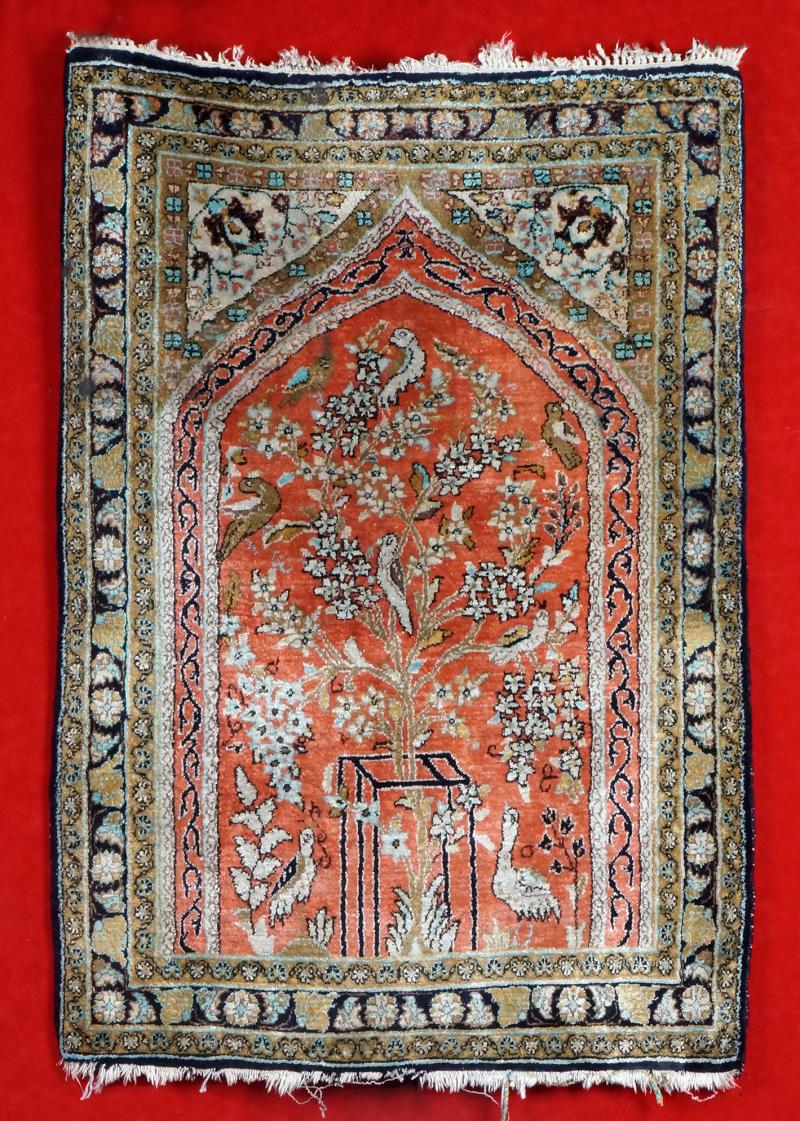 Catalogue De La Vente Tapis Iran Caucase Turquie Aubusson Tapisseries Eric Pillon