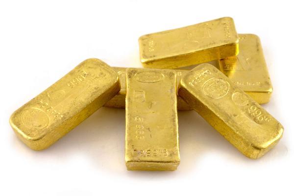 """Lingot d'or """"Laboratoires Pourquery, Lyon"""" N° 019798. Titre : 997.8 - Poids :[...]"""