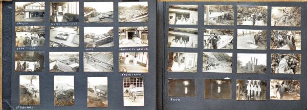 Voyage au Japon et en Chine. Photographies. Album in-8. 1935. Album contenant 241[...]