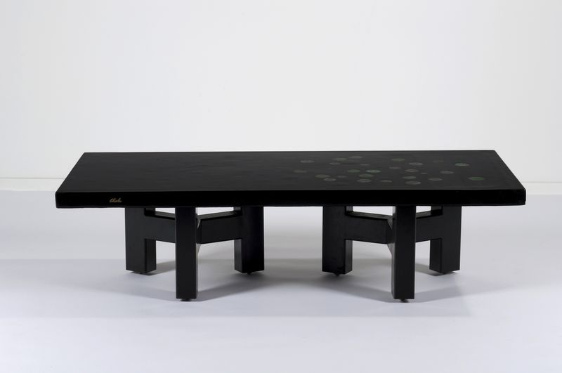 Ado chale table basse mis en vente lors de la vente art belge design - Table basse bruxelles ...