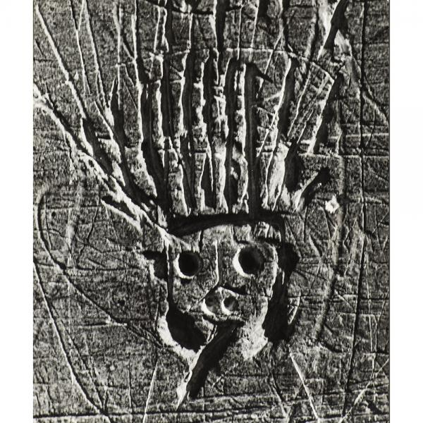 Brassaï (1899-1984)  - Le Roi soleil, 1950, Épreuve argentique d'époque noir et [...]