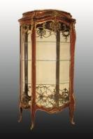 Francois LINKE - Rare et importante vitrine