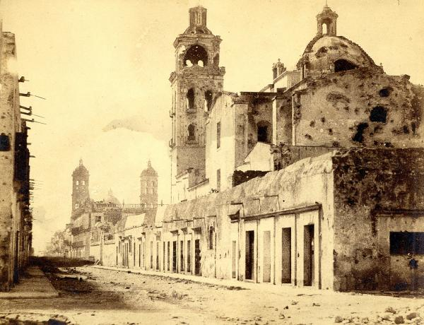 Photographe non identifié   - Mexique, c. 1865-1870.   - Puebla.   - Six (6) [...]
