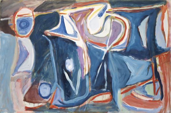 Bram VAN VELDE  - SANS TITRE, 1964  - Huile sur toile  - 131 x 196 cm  -   -[...]