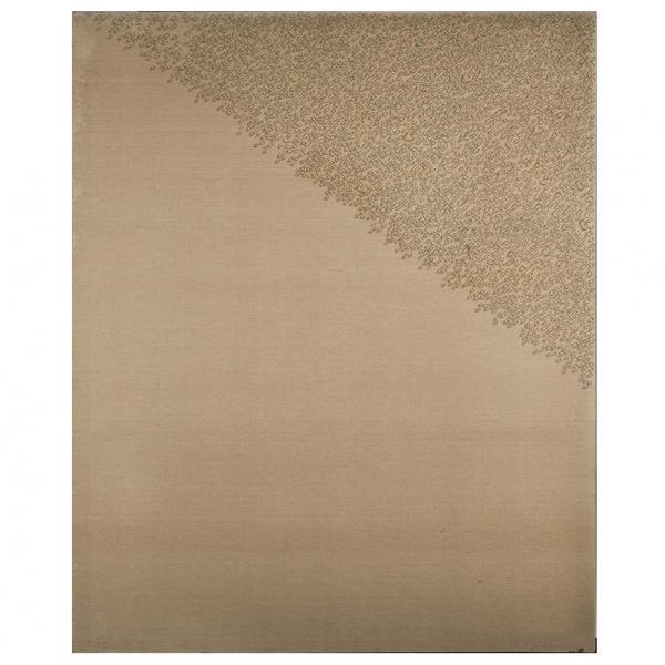 Kim Tschang-Yeul (né en 1929)  - Les gouttes d'eau, 1973, Huile sur toile, Signée[...]