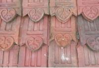 Bordures de jardin terre cuite de beauvais xxe si cle mis en vente lor - Bordure de jardin ancienne en terre cuite ...