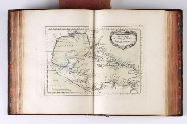 [MARINE / ATLAS].  - BELLIN (Jacques Nicolas).  - Le Petit Atlas maritime. Recueil de[...]