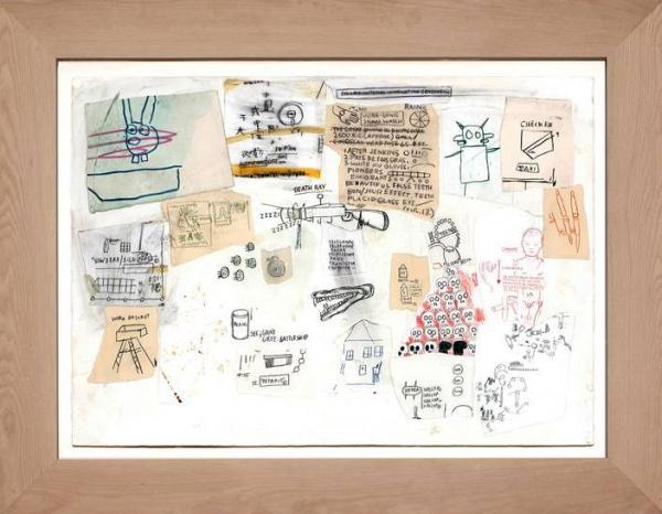 Jean-Michel BASQUIAT (1960-1988) - Untitled - 1987